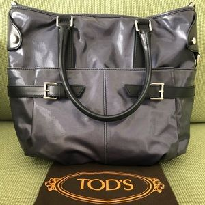 f547f1c542 Tod's Bags | Tods Coated Canvas Gline Easy Sacca Media | Poshmark